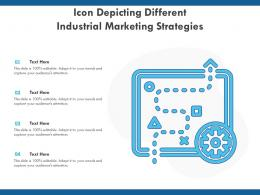 Icon Depicting Different Industrial Marketing Strategies
