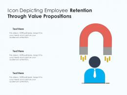Icon Depicting Employee Retention Through Value Propositions