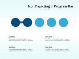 Icon Depicting In Progress Bar