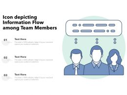 Icon Depicting Information Flow Among Team Members
