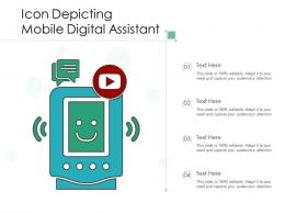 Icon Depicting Mobile Digital Assistant