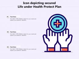 Icon Depicting Secured Life Under Health Protect Plan