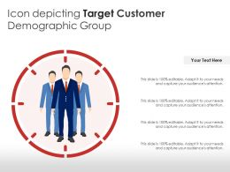 Icon Depicting Target Customer Demographic Group