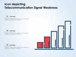 Icon Depicting Telecommunication Signal Weakness