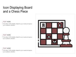 Icon Displaying Board And A Chess Piece