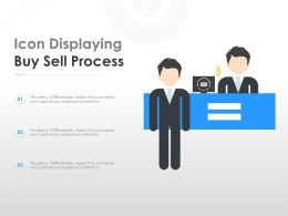 Icon Displaying Buy Sell Process