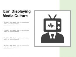 Icon Displaying Media Culture