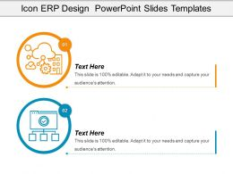 Icon Erp Design Powerpoint Slides Templates