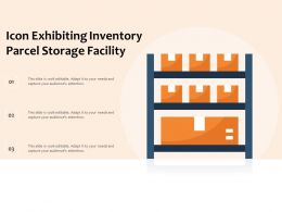 Icon Exhibiting Inventory Parcel Storage Facility