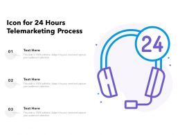 Icon For 24 Hours Telemarketing Process