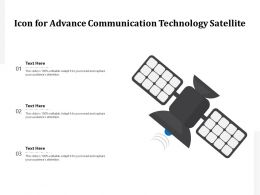 Icon For Advance Communication Technology Satellite