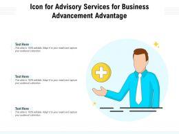 Icon For Advisory Services For Business Advancement Advantage
