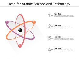 Icon For Atomic Science And Technology