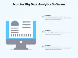 Icon For Big Data Analytics Software