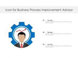 Icon For Business Process Improvement Advisor