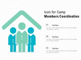 Icon For Camp Members Coordination