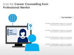 Icon For Career Counselling From Professional Mentor