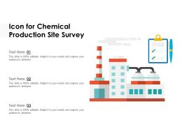 Icon For Chemical Production Site Survey