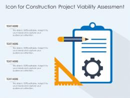Icon For Construction Project Viability Assessment