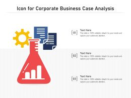 Icon For Corporate Business Case Analysis