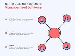 Icon For Customer Relationship Management Software