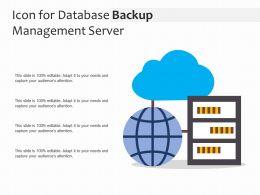 Icon For Database Backup Management Server