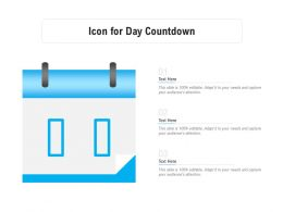 Icon For Day Countdown
