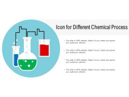 Icon For Different Chemical Process