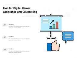 Icon For Digital Career Assistance And Counselling