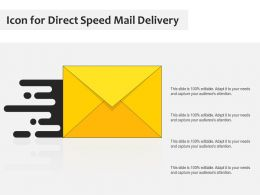 Icon For Direct Speed Mail Delivery