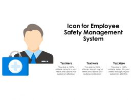 Icon For Employee Safety Management System