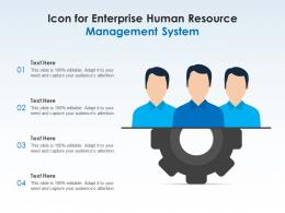 Icon For Enterprise Human Resource Management System
