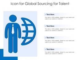 Icon For Global Sourcing For Talent