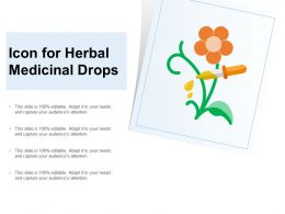 Icon For Herbal Medicinal Drops