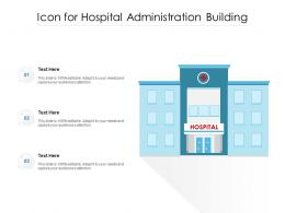 Icon For Hospital Administration Building
