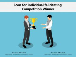 Icon For Individual Felicitating Competition Winner