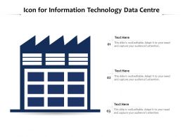 Icon For Information Technology Data Centre