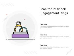 Icon For Interlock Engagement Rings