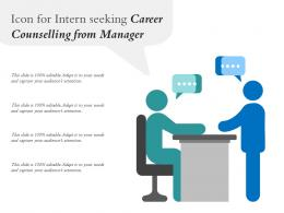 Icon For Intern Seeking Career Counselling From Manager