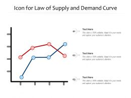 Icon For Law Of Supply And Demand Curve