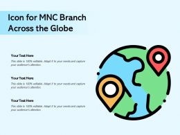 Icon For MNC Branch Across The Globe