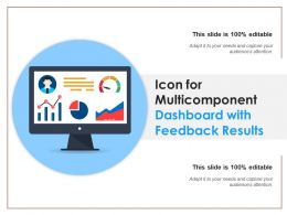 Icon For Multicomponent Dashboard With Feedback Results