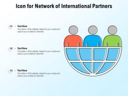 Icon For Network Of International Partners