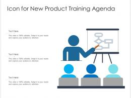 Icon For New Product Training Agenda