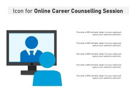 Icon For Online Career Counselling Session