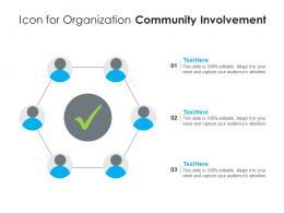 Icon For Organization Community Involvement