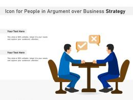 Icon For People In Argument Over Business Strategy