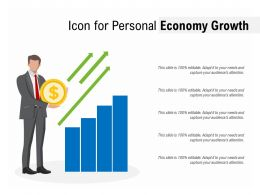 Icon For Personal Economy Growth