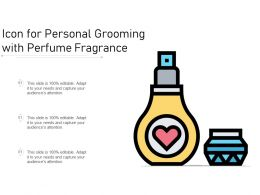 Icon For Personal Grooming With Perfume Fragrance