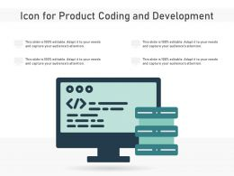 Icon For Product Coding And Development